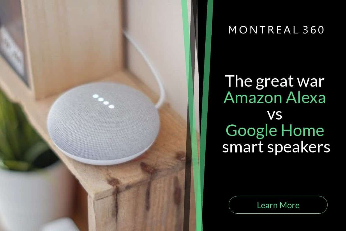 The Great War: Alexa vs Google Home Smart Speakers